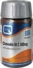 Quest Chewable Vit C 500mg 60 ταμπλέτες
