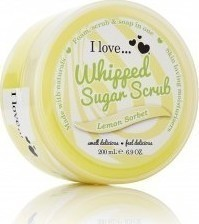 I Love Cosmetics Lemon Sorbet Whipped Sugar Scrub 200ml