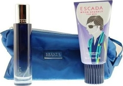 Escada Moon Sparkle Eau de Toilette 50ml & Shower Gel 150ml & Classic Toiletry Bag