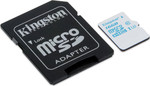 Kingston Action Camera microSDHC 16GB U3 with Adapter