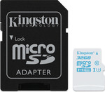 Kingston Action Camera microSDHC 32GB U3 with Adapter