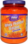 Now Foods Whey Protein Isolate 1.8lbs 816gr Βανίλια
