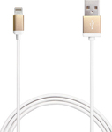 Puro USB to Lightning Cable Gold 1.2m (P-CAPLTMETALGOLD)