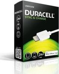 Duracell USB to Lightning Cable White 2m (USB5022W)