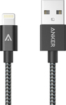 Anker Braided USB to Lightning Cable Black 0.9m (A7136011)