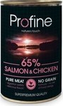 PROFINE ΚΟΝΣ. SALMON, CHICKEN & POTATOES 6X400gr