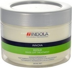Indola Innova Repair Rinse-off Treatment Pot 200ml