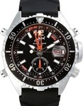 Chris Benz Analog Sepia Black Diver CB-A-BLA-MB
