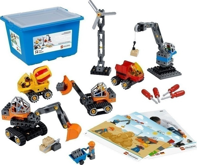 Lego Tech Machines Set with Storage 45002 - Skroutz.gr