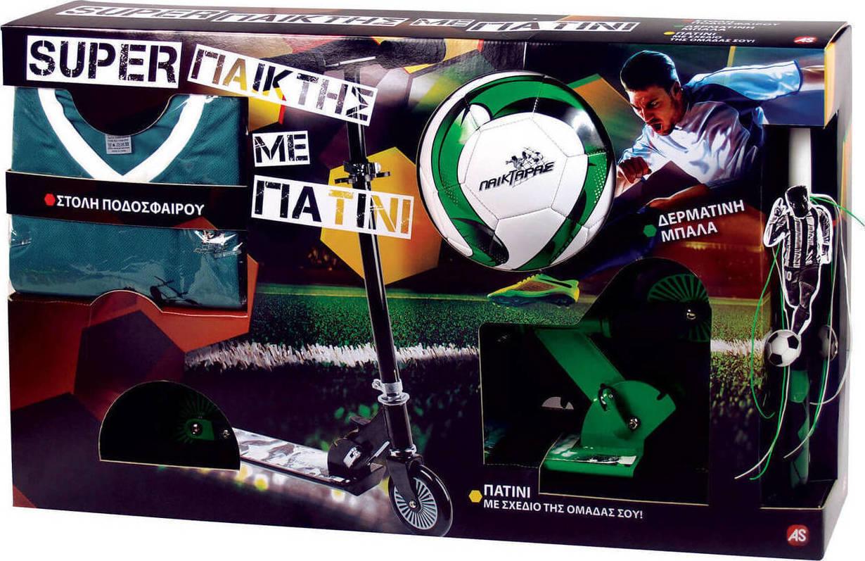 6621595538a Προσθήκη στα αγαπημένα menu Λαμπάδα Super Παίκτης & Πατίνι Πράσινο  1500-15521 As Company