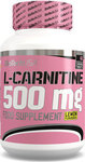 Biotech USA Pink Fit L-Carnitine 60 ταμπλέτες 500mg Λεμόνι