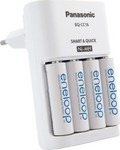 Panasonic Smart-Quick Charger + 4x AA 1900mAh
