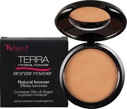 Rebecca Mineral Bronzer Powder No 04 Bronze Matt 10gr