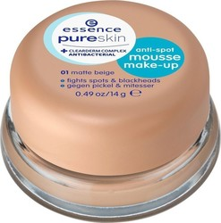 Essence Pure Skin Anti-spot Mousse Make-up 01 Matt Beige 14gr