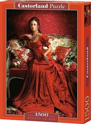 Beauty in Red 1500pcs (C-151370) Castorland