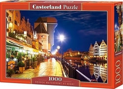 Gdansk Waterfront At Night 1000pcs (C-103379) Castorland