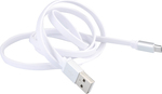 Baseus Flat USB 2.0 to micro USB Cable White 1m (CAMICRO-DE2S)