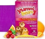 Hero Nutritionals Yummi Bears Fish Free Omega 3 Chia Seed 90 μασώμενες ταμπλέτες