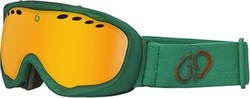 BlueTribe X-Ray Green Goggles BT815-G-XR-80