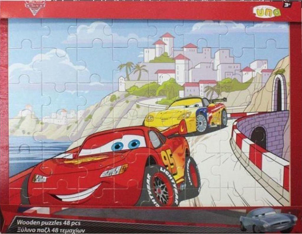 fbcc0c98cfd9 Προσθήκη στα αγαπημένα menu Disney Cars Ξύλινο Παζλ 48pcs Luna