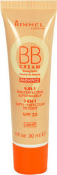 Rimmel London BB Cream 9in1 SPF20 Skin Perfecting Super Make Up 30ml