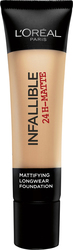 L'Oreal Infallible Matte 24h Foundation 30 Honey 35ml