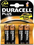 Duracell Plus AA (4τμχ)