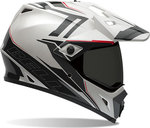 Bell MX-9 Adventure Barricade White