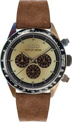 Out Of Order Cronografo Brown - Cream 001-4.MS.CR