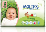 Moltex Eco Nappy Mini No 2 (3-6 Kg) 42τμχ