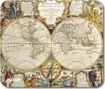 Allsop MousePad Nautical Map Double Globe