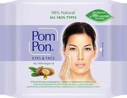 Pom Pon 98% Natural All Skin Types Tissues 20τμχ