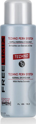 Freelimix Free Limix Techno Perm System T2 Normal or Dyed Hair 500ml