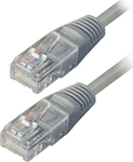 TrustWire U/UTP Cat.5 Cable 15m Γκρί (16131)