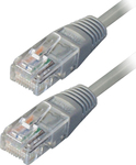 TrustWire U/UTP Cat.5 Cable 3m Γκρί (16128)