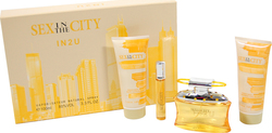 Sex And The City In 2 U Eau de Parfum 200ml & Eau de Parfum 20ml & Shower Gel 200ml & Body Lotion 200ml