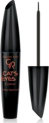 Golden Rose Cat's Eyes Eyeliner Black