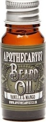 Apothecary87 Vanilla & Mango Beard Oil 10ml
