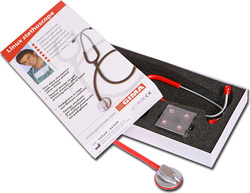 Gima Linux Stethoscope - Red 32529