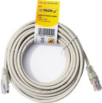 Heitech U/UTP Cat.5 Cable 5m Γκρί (09001254)