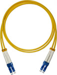 OEM Optical Fiber LC-LC Cable 1m Κίτρινο