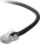 Belkin U/UTP Cat.5e Cable 0.5m Μαύρο (A3L791B50CM-BLK)