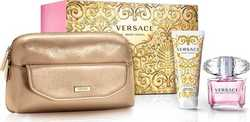 Versace Bright Crystal Eau de Toilette 90ml & Body Lotion 100ml & Bag