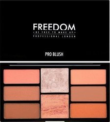 Freedom London Pro Blush Palette Peach And Baked