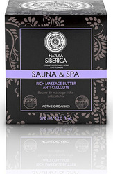 Natura Siberica Sauna & Spa Rich Massage Butter Anti Cellulite 370ml