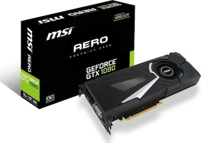 MSI GeForce GTX1080 8GB Aero OC
