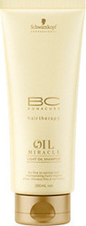 Schwarzkopf Bc Bonacure Oil Miracle Shampoo for Thin Hair 200ml