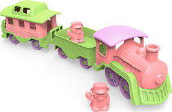Green Toys Train - Pink