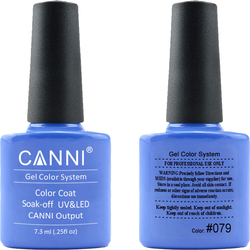 Canni Nail Art Color Coat 079 Blue Royal