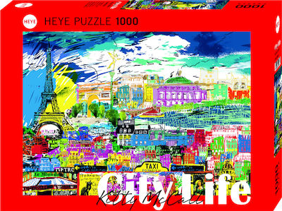 City Life: I love Paris 1000pcs (29741) Heye